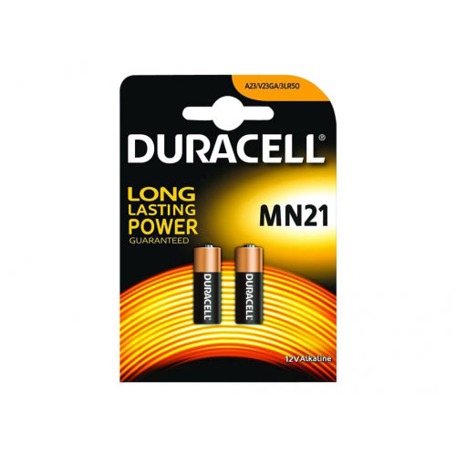 Duracell Security MN21 - Battery 2 x 3LR50 Alkaline 33 mAh