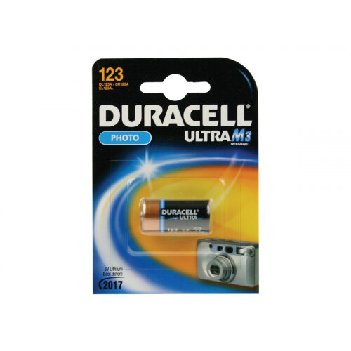 Duracell Ultra 123 - Camera battery Li 1550 mAh