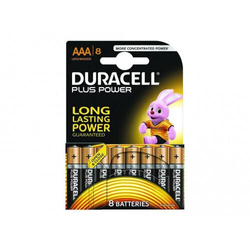 Duracell - Battery 8 x AAA type Alkaline 1150 mAh