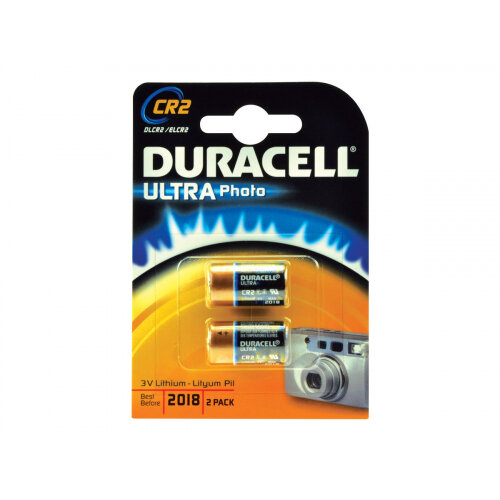 Duracell Ultra Power Lithium DLCR2-X2 - Battery 2 x CR2 - Li