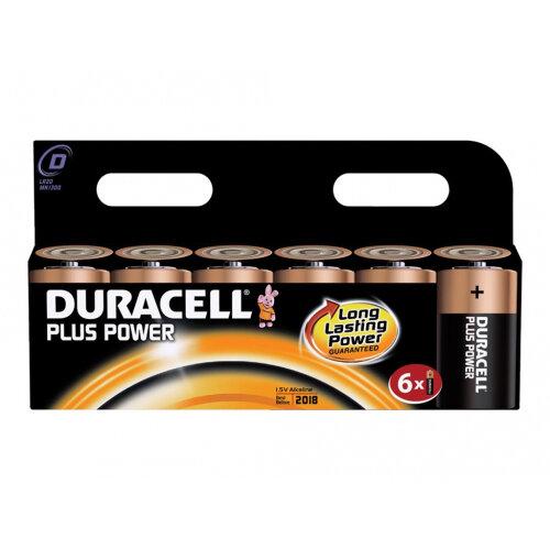 Duracell Plus Power MN1300 - Battery 6 x D Alkaline