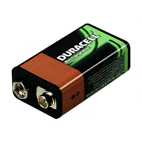 Duracell HR9V Multipurpose Battery - Battery 9V NiMH ( rechargeable ) 170 mAh