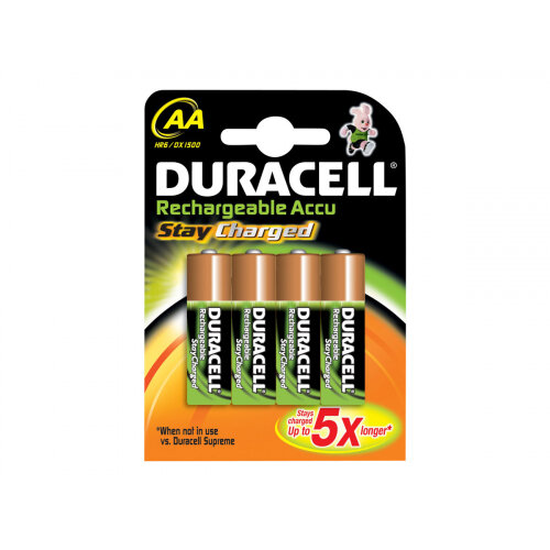 Duracell StayCharged HR6 - Battery 4 x AA type NiMH ( rechargeable ) 2000 mAh