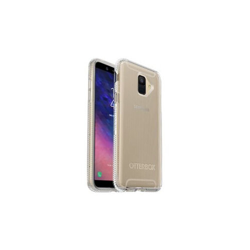OtterBox Prefix - Back cover for mobile phone - thermoplastic polyurethane (TPU) - clear - for Samsung Galaxy A6