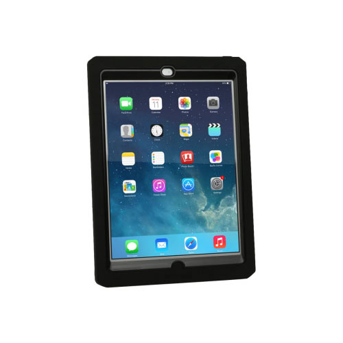 Max Cases Shield Xtreme-S Case - Sleek Version - Protective case for tablet - silicone - black - for Apple 9.7-inch iPad (5th generation)
