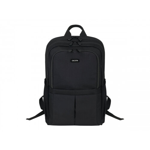"Dicota Backpack SCALE - Notebook carrying backpack - 15.6"" - black"