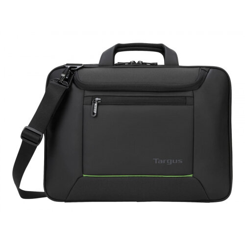 "Targus EcoSmart Balance Briefcase - Notebook carrying case - Laptop Bag - 14"" - black"