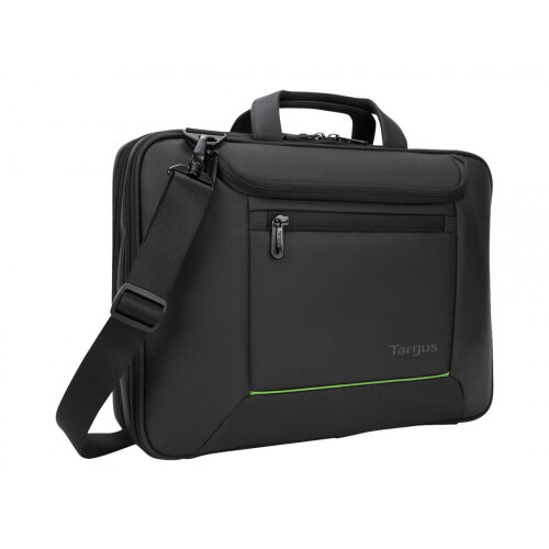 "Targus EcoSmart Balance Briefcase - Notebook carrying case - Laptop Bag - 15.6"" - black"