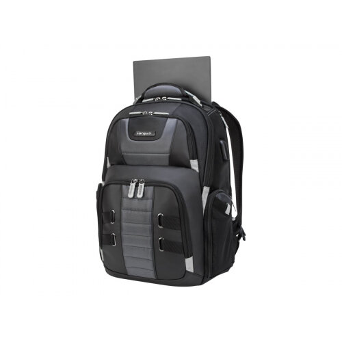 "Targus DrifterTrek - Notebook carrying backpack - 11.6"" - 16"" - grey, black"