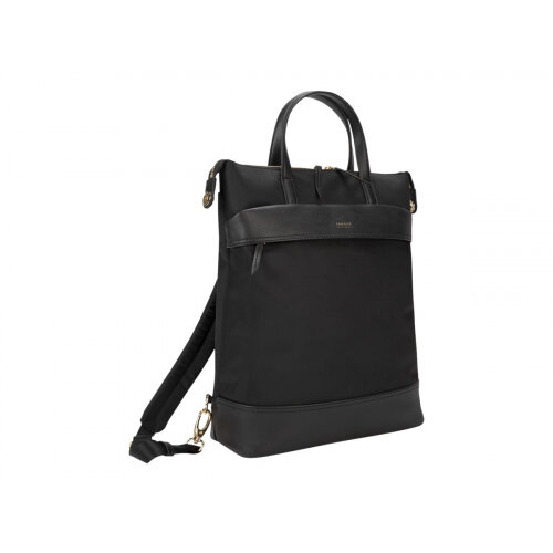 "Targus Newport Convertible - Notebook carrying backpack/tote - 15"" - black"