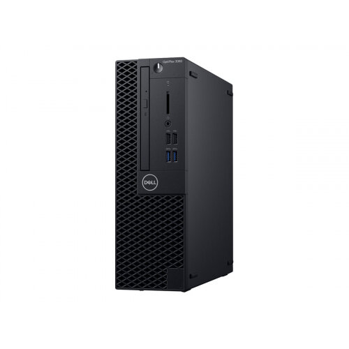 Dell OptiPlex 3060 - SFF Desktop PC - 1 x Core i3 8100 / 3.6 GHz - RAM 4 GB - HDD 500 GB - DVD-Writer - UHD Graphics 630 - GigE - Win 10 Pro 64-bit - monitor: none - BTS