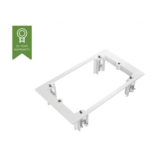 VISION TechConnect - Flush mount adapter - 2-gang