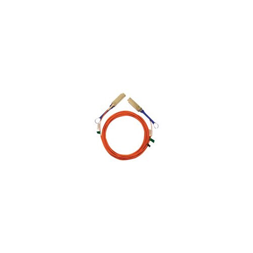 Mellanox LinkX - 25GBase-AOC direct attach cable - SFP28 to SFP28 - 10 m - fibre optic - SFF-8665/OM2 - plenum, active - orange