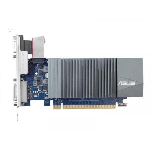 ASUS GT710-SL-1GD5-BRK - Graphics card - GF GT 710 - 1 GB GDDR5 - PCIe 2.0 low profile - DVI, D-Sub, HDMI - fanless