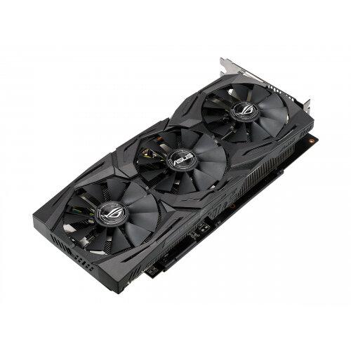 ASUS ROG-STRIX-RX580-O8G-GAMING - Graphics card - Radeon RX 580 - 8 GB GDDR5 - PCIe 3.0 x16 - DVI, 2 x HDMI, 2 x DisplayPort