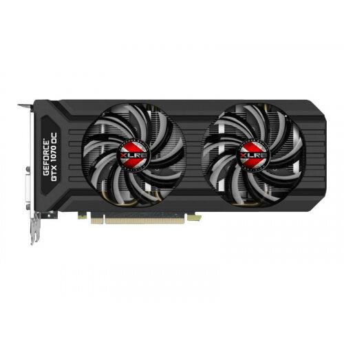 PNY XLR8 GeForce GTX 1070 OC GAMING - Graphics card - GF GTX 1070 - 8 GB GDDR5 - PCIe 3.0 x16 - DVI, HDMI, 3 x DisplayPort