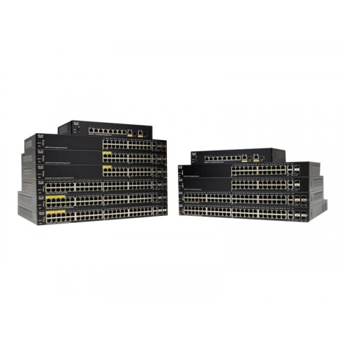 Cisco 250 Series SG250-08HP - Switch - L3 - smart - 8 x 10/100/1000 (PoE+) - rack-mountable - PoE+ (45 W)