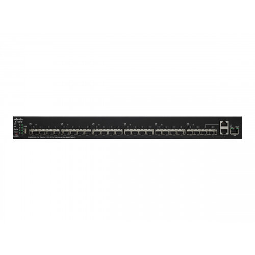Cisco Small Business SG350XG-24F - Switch - Managed - 22 x 10 Gigabit SFP+ + 2 x combo 10GBase-T - desktop, rack-mountable