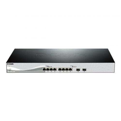 D-Link DXS 1210-10TS - Switch - Managed - 8 x 10GBase-T + 2 x 10 Gigabit SFP+ - rack-mountable
