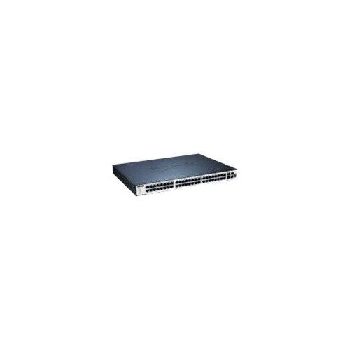 D-Link xStack DGS-3120-48TC - Switch - Managed - 44 x 10/100/1000 + 4 x combo SFP - desktop