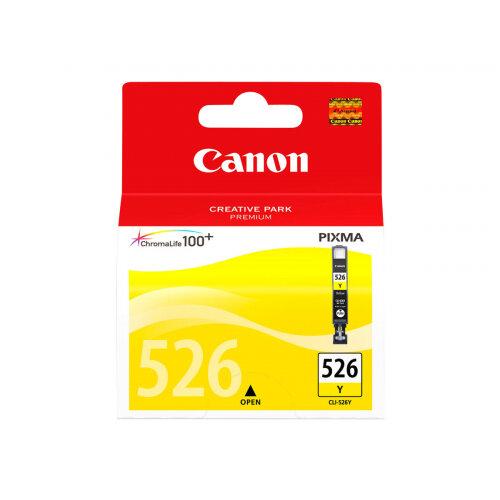 Canon CLI-526Y - Yellow - original - ink tank - for PIXMA iP4950, iX6550, MG5250, MG5350, MG6150, MG6250, MG8150, MG8250, MX715, MX885, MX895