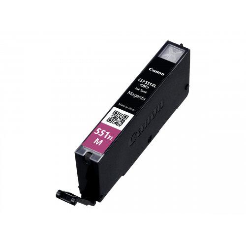 Canon CLI-551M XL - High Yield - magenta - original - ink tank - for PIXMA iP8750, iX6850, MG5550, MG5650, MG5655, MG6450, MG6650, MG7150, MG7550, MX725, MX925