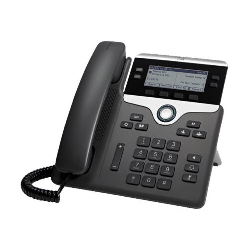 Cisco IP Phone 7841 - VoIP phone - SIP - 4 lines