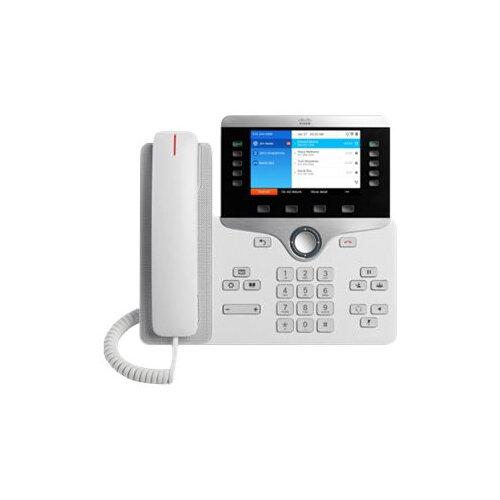 Cisco IP Phone 8861 - VoIP phone - IEEE 802.11a/b/g/n/ac (Wi-Fi) - SIP, RTCP, RTP, SRTP, SDP - white
