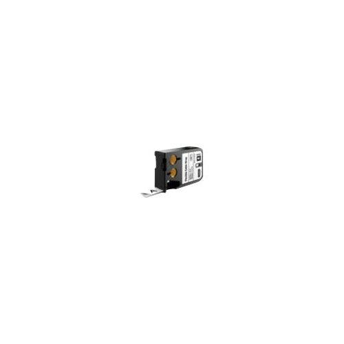DYMO XTL - Nylon - permanent adhesive - black on white - Roll (1.9 cm x 5.5 m) 1 roll(s) flexible label tape