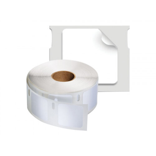 DYMO LabelWriter Address - Adhesive - white - 25 x 25 mm 1700 label(s) (1 roll(s) x 1700) labels