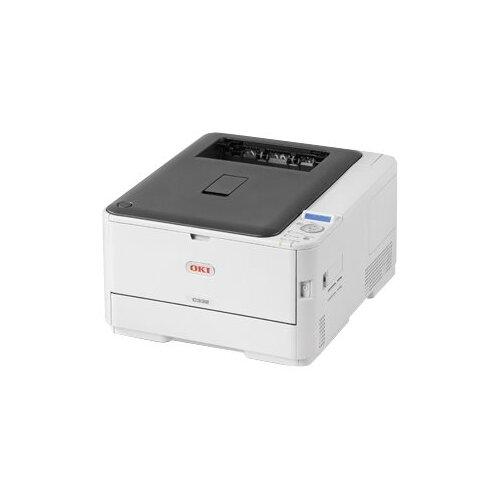 OKI C332dnw - Printer - colour - Duplex - LED - A4/Legal - 1200 x 600 dpi - up to 30 ppm (mono) / up to 26 ppm (colour) - capacity: 390 sheets - USB 2.0, LAN, Wi-Fi(n)