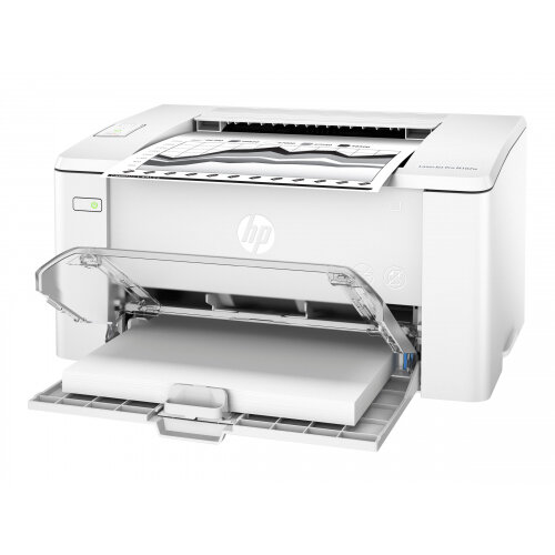 HP LaserJet Pro M102w - Printer - monochrome - laser - A4/Legal - 1200 dpi - up to 22 ppm - capacity: 160 sheets - USB 2.0, Wi-Fi