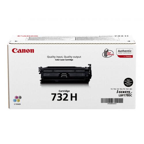 Canon 732 BK H - High capacity - black - original - toner cartridge - for i-SENSYS LBP7780Cx