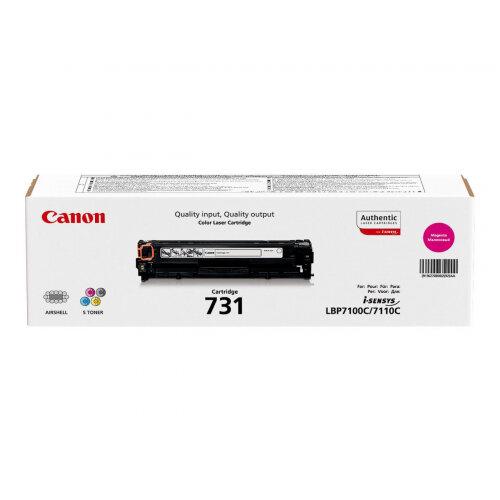 Canon 731 M - Magenta - original - toner cartridge - for i-SENSYS LBP7100Cn, LBP7110Cw, MF623Cn, MF628Cw, MF8230Cn, MF8280Cw