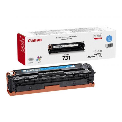 Canon 731 C - Cyan - original - toner cartridge - for i-SENSYS LBP7100Cn, LBP7110Cw, MF623Cn, MF628Cw, MF8230Cn, MF8280Cw
