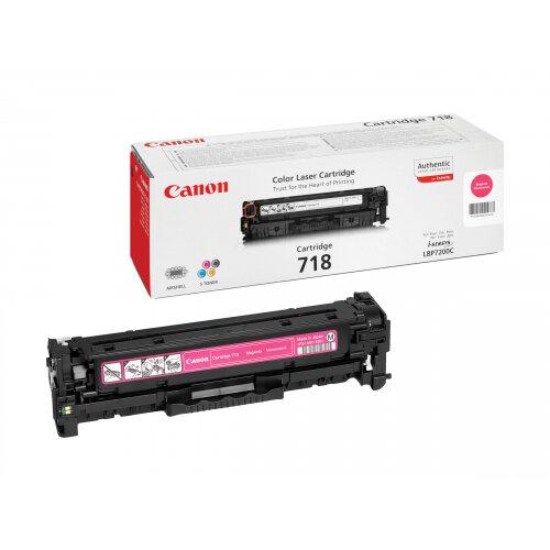 Canon 718 Magenta - Magenta - original - toner cartridge - for i-SENSYS LBP7210, LBP7680, MF728, MF729, MF8340, MF8360, MF8380, MF8540, MF8550, MF8580
