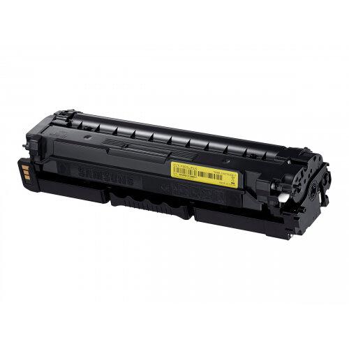 Samsung CLT-Y503L - High Yield - yellow - original - toner cartridge (SU491A) - for ProXpress SL-C3010DW, SL-C3010ND, SL-C3060FR, SL-C3060FW, SL-C3060ND