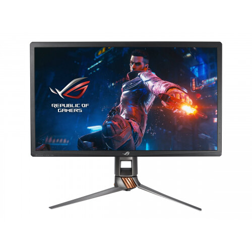 "ASUS ROG SWIFT PG27UQ - LED Computer Monitor - 27"" - 3840 x 2160 4K - IPS - 1000 cd/m² - 4 ms - HDMI, DisplayPort - black"
