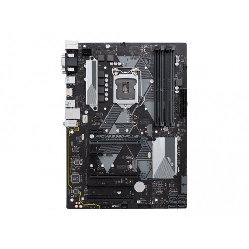 ASUS PRIME B360-PLUS - Motherboard - ATX - LGA1151 Socket - B360 - USB 3.1 Gen 1, USB 3.1 Gen 2 - Gigabit LAN - onboard graphics (CPU required) - HD Audio (8-channel)