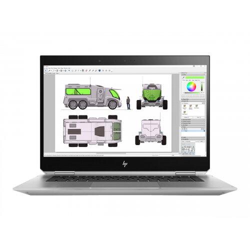 "HP ZBook Studio x360 G5 Mobile Workstation - Flip Design Laptop - Core i7 8850H / 2.6 GHz - Win 10 Pro 64-bit - 32 GB RAM - 1 TB SSD NVMe, TLC - 15.6"" IPS touchscreen 3840 x 2160 (4K) - Quadro P1000 - Wi-Fi, Bluetooth - kbd: UK"