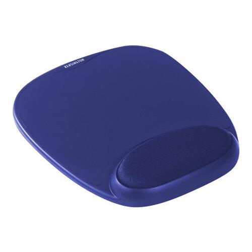 Kensington Gel Mouse Rest - Mouse pad with wrist pillow - blue