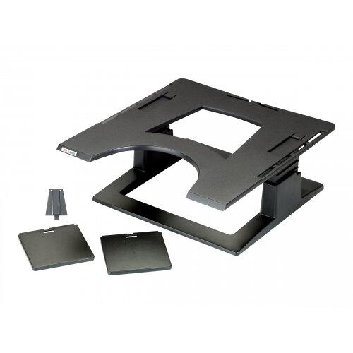 3M Adjustable Notebook Riser LX500 - Notebook platform - black