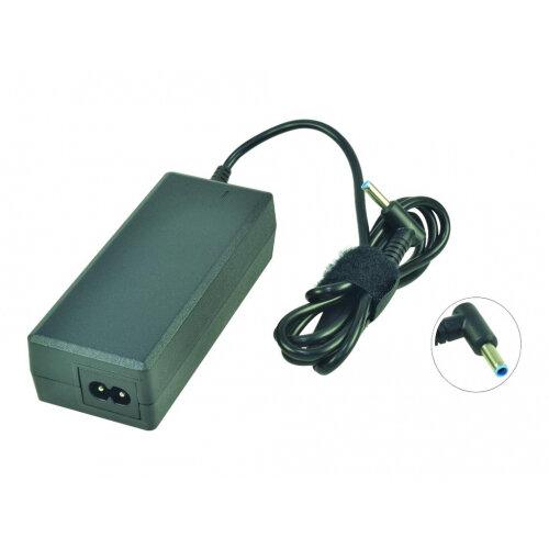 2-Power - Power adapter - AC 110-240 V - 65 Watt - for HP 255 G3; Envy 14, 15; Pavilion 17; Split x2