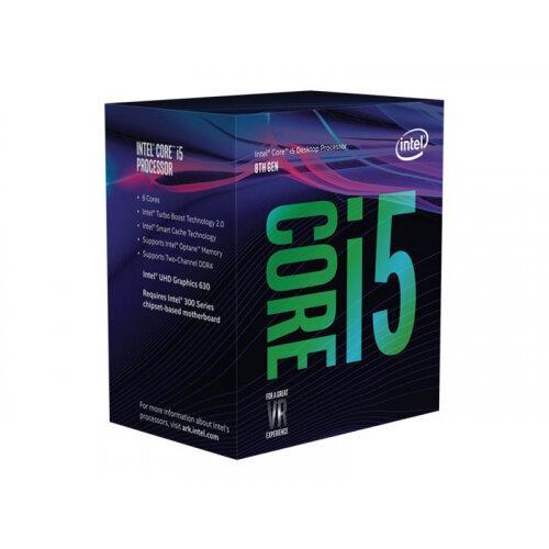 Intel Core i5 8400 - 2.8 GHz - 6-core - 6 threads - 9 MB cache - LGA1151 Socket - Box