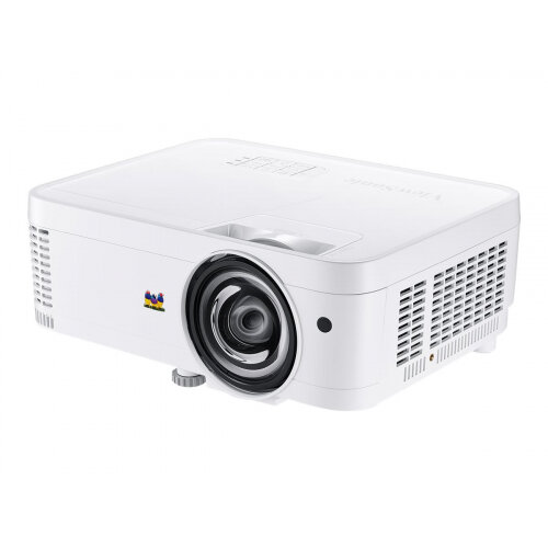 ViewSonic PS501W - DLP Multimedia Projector - portable - 3D - 3500 ANSI lumens - WXGA (1280 x 800) - 16:10 - short-throw fixed lens