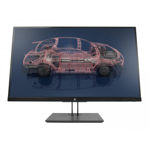 "HP Z27n G2 - LED Computer Monitor - 27"" (27"" viewable) - 2560 x 1440 QHD - IPS - 350 cd/m² - 1000:1 - 5 ms - HDMI, DVI-D, VGA, DisplayPort, USB-C"