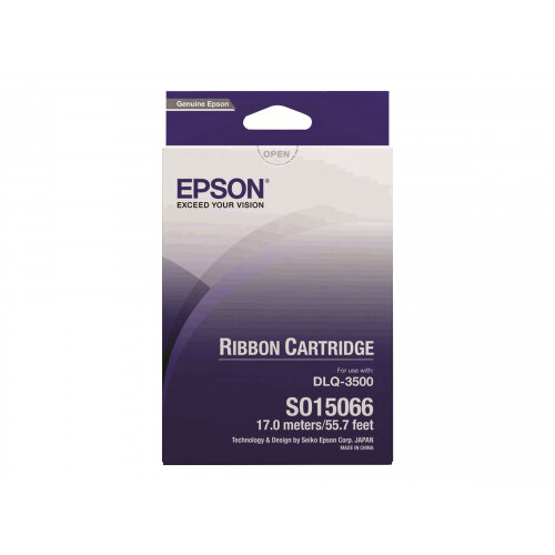 Epson - 1 - black - 16.75 m - printer fabric ribbon - for DLQ 3000, 3000+, 3500