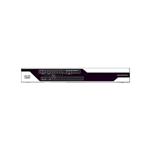 Cisco 891FW - Wireless router - ISDN/Mdm - 8-port switch - GigE - WAN ports: 3 - 802.11a/b/g/n - Dual Band
