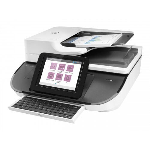 HP Digital Sender Flow 8500fn2 - Document scanner - Duplex - 216 x 864 mm - 600 dpi x 600 dpi - up to 92 ppm (mono) / up to 92 ppm (colour) - ADF (150 sheets) - up to 10000 scans per day - USB 2.0, Gigabit LAN, USB 2.0 (Host)