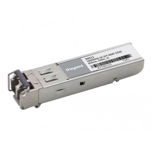 C2G Cisco GLC-SX-MMD Compatible 1000BASE-SX MMF SFP (Mini-GBIC) Transceiver Module - SFP (mini-GBIC) transceiver module (equivalent to: Cisco GLC-SX-MMD) - GigE - 1000Base-SX - LC multi-mode - up to 550 m - 850 nm - for Cisco 38XX, 7301 VAM2+; Catalyst 29